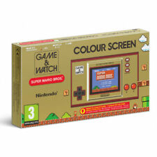 Nintendo Game & Watch: Super Mario Bros. Colour Screen Consola Portátil Coleccionable - Marrón