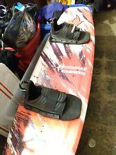 "HYDRO SLIDE CHAOS WAKEBOARD 56"" W/ NEW HELIX BINDINGS boards likeo new"