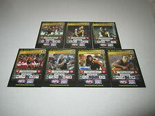 2001 AFL TEAM COACH RICHMOND TIGERS FULL BASE TEAM SET 7 CARDS TEAMCOACH