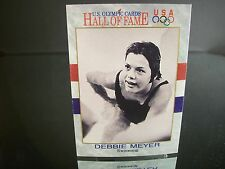 Rare Debbie Meyer U.S. Olympic Impel  1991 Card #34 HALL OF FAME Swimming