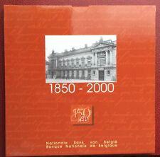 Belgique - Série FDC  2000  FR + VL - Banque Nationale de Belgique
