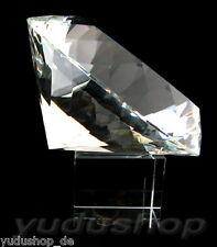 Glasdiamant aus Kristallglas 200mm mit Ständer 5,60kg