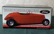 1999 Liberty Classics 34 Ford Roadster Street Rod 1:24 Scale Bank Red And White