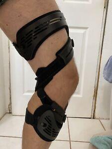Ossur Unloader One LL Left Lateral Knee Brace LG Black SmartDosing