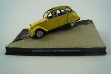 Modellauto 1:43 James Bond 007 Citroen 2 CV *for your eyes only* Nr. 5