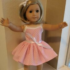 18 inch DOLL CLOTHES for AMERICAN GIRL DOLLS PINK POCKA DOT PARTY FREE SHIP 4886