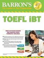 Barron's TOEFL iBT with CD-ROM and MP3 audio CDs, 15th Edition