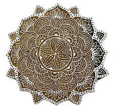 Eule dekorativen Holzblock handgeschnitzten Druck Blöcke indischen Stempel 2 x 1