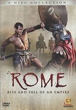 ROME Rise And Fall Of An Empire 6 x DVD Collection HISTORY CHANNEL