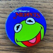 Vintage Jim Henson's Muppets Pinback Buttons Kermit the Frog