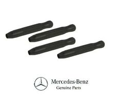 NEW Mercedes E320 2004 Front Set Of 4 Door Lock Knob Black GENUINE
