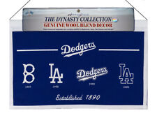 Los Angeles LA Dodgers MLB Wool Hanging 22x14 Heritage Banner