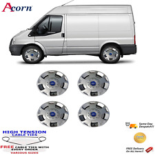 "16"" WHEEL TRIMS TO FIT FORD TRANSIT VAN  SET OF 4 2000-2018 MK6 MK7 MK8 HUB CAPS"