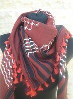 Hirbawi Kufiya Multi-Color Original Arab Scarf Palestinian Shemagh Brand New
