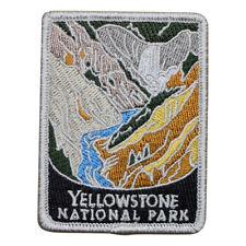 Yellowstone National Park Patch - Yellowstone River (Iron on)