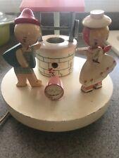 Vintage Irmi Storybook Jack & Jill Nursery Lamp