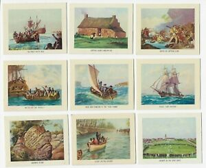 Nabisco Highlights of Australian History set of 60 cards 1964