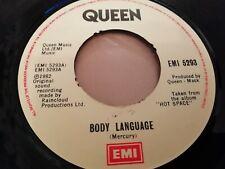 "QUEEN * BODY LANGUAGE * 7"" ROCK SINGLE 1982 ( EMI 5293 )"