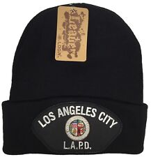 City Of Los Angeles Police LAPD Beanie Black