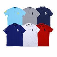 Polo Ralph Lauren Mens Big Pony Polo Shirt Classic Fit Xs S M L Xl Xxl New Nwt