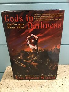Gods in Darkness Complete Novels of Kane Karl Edward Wagner Night Shade Books