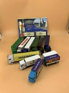German Beer Truck Model Gift Lot Of 10 Limited Editions HO Scale
