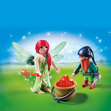 PLAYMOBIL® 6842 Elf and Dwarf Duo Pack - NEW 2016 - S&H FREE WORLDWIDE