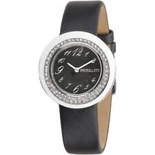 Orologio Donna MORELLATO LUNA R0151112503 Swarovski Pelle Nero