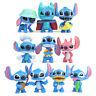 10 Pcs Disney Anime Lilo & Stitch Action Figure Collectible Toy Kids Cake Topper