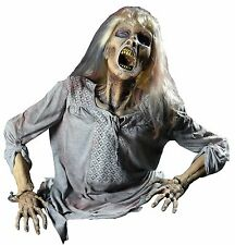 Halloween Lifesize Animated GRAVE BUSTER CORPSE BARB FRIGHTRONICS Prop Haunted