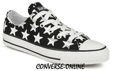 KID Boy Girl CONVERSE All REPEAT BIG STAR LO Black White Trainers Shoe UK SIZE 4
