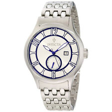 INVICTA 12232 VINTAGE SILVER  DIAL STAINLESS STEEL MEN'S WATCH $995.00 RETAIL