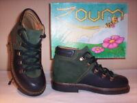 Scarpe alte polacchini scarponcini Zoum bimbo bambino shoes pelle nuovi 25 26 28