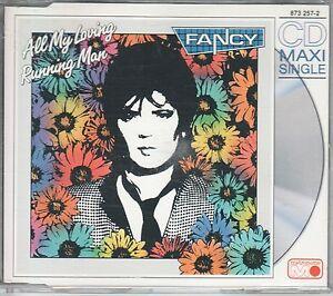 Fancy CD-MAXI  ALL MY LOVING / RUNNING MAN  (c)  1989  EXTENDED VERSION