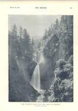 1894 The Valsorey Falls Near The Great St Bernard Camerawork