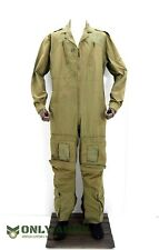 More details for british military raf pilot coverall aircrew overalls flight suit army olive drab