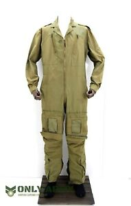 British Military RAF Pilot Coverall Aircrew Overalls Flight Suit Army Olive Drab