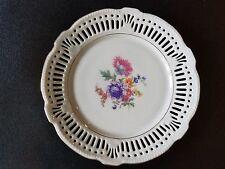 "Vintage Schwarzenhammer Bavaria Germany Us Zone 4 Floral 7"" Plate"