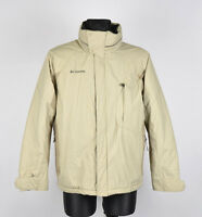 Columbia à Capuche Hommes Veste Manteau Taille M, Véritable