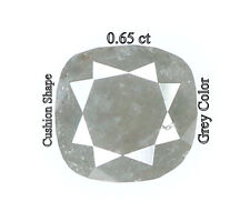 Natural Loose Diamonds Cut Cushion Grey Color 0.65 Ct L3255 BBK