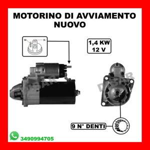 MOTORINO DI AVVIAMENTO NUOVO SAAB 9-3 CABRIOLET 1.9 TID DA 06 KW110 CV150 Z19DTH