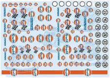 GULF Racing | Waterslide Decals for Model Cars in all scales from 1:64 to 1:18