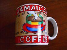 """Sakura INDONESIA JAVA COFFEE Mug 12 oz. """"JAMAICAN COFFEE"""" Designed By Sue Z.  BG"""