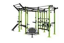 WE R Sports POWER RACK gabbia di potenza commerciale Crossfit pull up chin up TRICIPITE 2