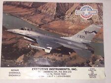 "Vintage 1994 Jets Calendar Warbird Classics Fighter Planes Airplane 11""x17"""