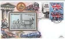 (03494) GB BENHAM Copertura treni rainhill Trials SANS PAREIL Prescot 6 OTT 2004