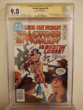 Wonder Woman #288 CGC 9.0 AUTOGRAPHED by ROY THOMAS