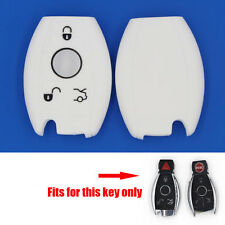 Silicone Key Shell for Benz E C R CL GL SLK Class Smart Remote Case Fob Cover WT