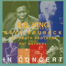 CD Album B. B.King Dave Brubeck Pat Metheny The Heath Brothers In Concert