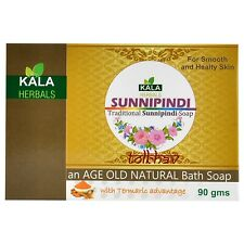 100%  Ayurvedic Sunnipindi Turmeric Herbal, Aromatic Bath And Beauty Soap